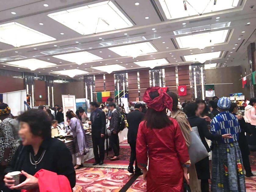 日本中近東アフリカ婦人会チャリティバザー